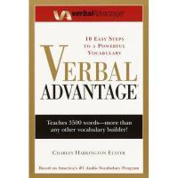 现货 Verbal Advantage: Ten Easy Steps to a Powerful 英文原版 GRE备考