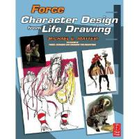 【预订】Force: Character Design from Life Drawing