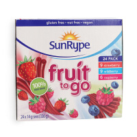 加拿大桑蕊SunRype水果条24条组合装 336g 富含VC 宝宝零食