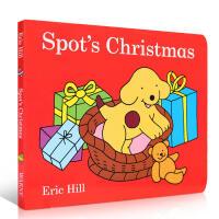 【全店300减100】英文原版Christmas圣诞绘本 Spot's Christmas 小玻的圣诞节 0-3岁启蒙阅
