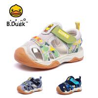 B.Duck小黄鸭童鞋男童凉鞋2020夏季新款男孩软底防踢透气休闲鞋子B2085912
