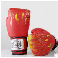 火焰拳击手套拳击手套拳套搏击格斗打沙袋手套
