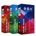 多乐士安全套精品系列多彩系列随  机一盒共10只安全套 成人用品,避孕套