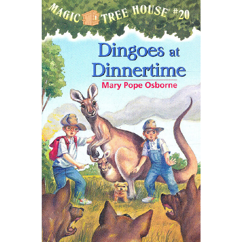 Magic Tree House #20: Dingoes at Dinnertime 神奇树屋系列20:解除魔咒 9780679890669
