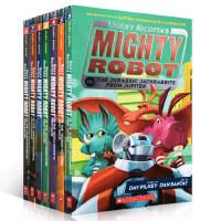 英文原版绘本 Ricky Ricotta's Mighty Robot 5册套装 内裤超人作者Dav Pilkey经典