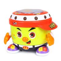 阿古会唱歌跳舞的玩具摇摆手拍鼓跳舞机器人