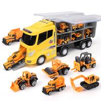 儿童玩具车小汽车工程车宝宝男孩0-1-2-3-4岁挖掘机挖土机大货车