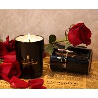香薰蜡烛玻璃杯助眠蜡烛香氛蜡烛礼盒手工大豆蜡室内蜡烛熏香去味