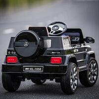 可坐人双驱男女宝宝带遥控玩具汽车儿童电动车四轮越野婴幼儿童车