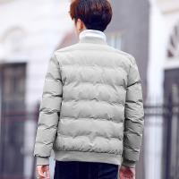 潮流外套棉衣男修身韩版学生羽绒短款加厚冬装棉袄子