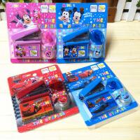 韩国文具 南韩订书机套装 配订书针+小胶带+胶带机 超值 学生奖品 款式随机