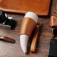 羊角杯 美式咖啡杯套装 复古创意咖啡杯
