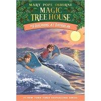 预售 英文原版儿童书 Dolphins at Daybreak (Magic Tree House #09) 神奇树屋9
