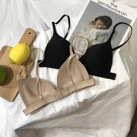 韩版夏季女装无钢圈内衣性感小胸调整型聚拢胸罩抹胸无痕裹胸文胸