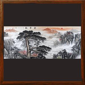 2.4米《迎客松》黎才-广西美协会员 专业画师ML3807FOO