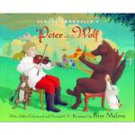 【预订】Sergei Prokofiev's Peter and the Wolf [With CD