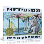 【发顺丰】英文原版 Where the Wild Things Are 野兽国出没的地方 凯迪克金奖 幼儿童英语启蒙阅