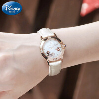 迪士尼儿童手表女孩中学生手表女防水女生手表石英米奇少女童手表
