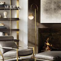 创意落地灯 简约客厅卧室书房北欧美式设计师艺术钓鱼灯饰