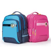 卡拉羊小学生书包女1-3-4-6年级儿童书包男生减负护脊双肩背包日韩CX2593
