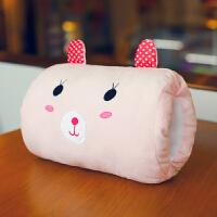 可爱创意表情包抱枕暖手抱枕插手毛绒玩具冬天暖手捂搞怪礼物