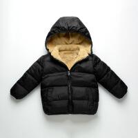 反季儿童羊羔绒棉衣男童羽绒女童棉袄宝宝加厚童装外套潮