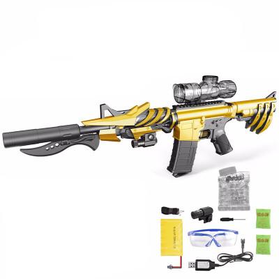 玩具枪水晶弹电动连发可发射下供弹 绝地求生吃鸡儿童玩具男孩冲锋枪98k真人CS儿童节礼物