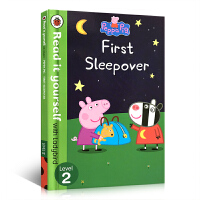 英文原版 Peppa Pig: First Sleepover Read It Yourself with Ladyb