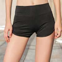 运动短裤女夏季短款热裤瑜伽裤子女 健身房短裤速干裤