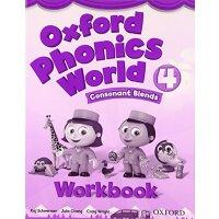 Oxford Phonics World: Level 4: Workbook【英文原版】牛津拼读世界1级:练习册