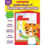 【中商原版】学乐幼儿园趣味练习册 英文原版 Jumbo Book of Kindergarten Fun Workbo
