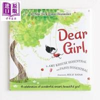 【中商原版】Paris Rosenthal Dear Girl 亲爱的姑娘 精品绘本 低幼性别认知启蒙亲子共读绘本 精装