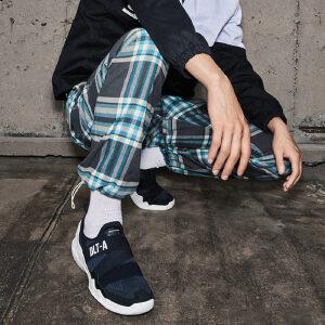 【11月12-13日大牌返场 狂欢继续】Skechers斯凯奇情侣DLT-A懒人休闲鞋 一脚套潮鞋熊猫鞋 88888101