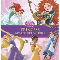 英文原版儿童书 Princess Adventure Stories 迪士尼公主探险故事合辑(精装)