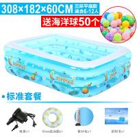家用儿童充气游泳池婴儿加厚宝宝超大号保温家庭海洋球池
