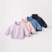 davebella戴维贝拉2018冬季新款儿童套头衫宝宝打底上衣DBJ9008