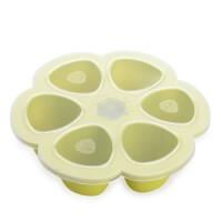 法国beaba辅食盒婴儿硅胶冰冻冷冻保鲜儿童存储盒零食格宝宝餐具