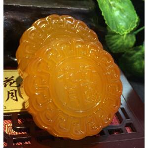 天然玉石月饼,中秋高档礼物【2-3TQYS1014】
