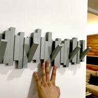 创意装饰墙壁挂衣架门口挂衣钩墙上衣帽架