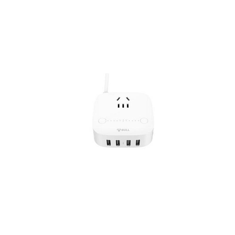 公牛USB插座防过充智能定时插座多功能插线板创意多口充电接线板
