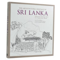 The Architectural Heritage of Sri Lanka斯里兰卡建筑遗产素描 建筑手绘画册