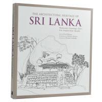 【预订】The Architectural Heritage of Sri Lanka斯里兰卡建筑遗产素描 建筑手绘画册