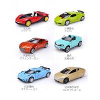 回力音乐灯光合金小汽车玩具男孩1-3岁2宝宝儿童玩具车模套装