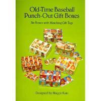【预订】Old-Time Baseball Punch-Out Gift Boxes: Six Boxes