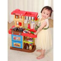 儿童过家家厨房玩具套装仿真厨具宝宝女孩童做饭3煮饭4-5-6岁玩具