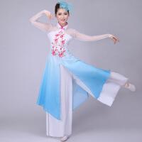 新款民族舞蹈服装梅花颂古典舞蹈服团扇舞伞舞服秧歌服演出服装女