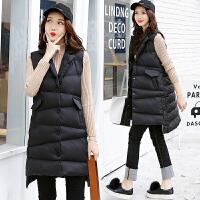 20180403122831209棉衣马甲女士外套冬季新女装韩版中长加厚棉衣外套女潮羽绒棉
