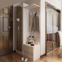 定制板式鞋柜 储物门厅柜 鞋架玄关柜 简约现代衣帽柜 定做隔断柜