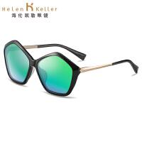 海伦凯勒太阳镜女潮2016新款偏光眼镜时尚炫彩太阳眼镜防紫外线墨镜H8521
