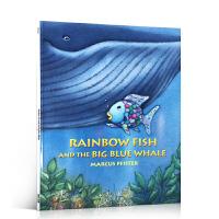 【全店300减110】英文原版进口正版 Rainbow Fish and the Big Blue Whale 彩虹鱼